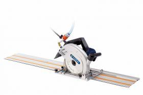 Carat TC-1800 Handtegelzaagmachine + rail 140cm incl. diamantzaag