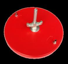 Ronde vacuumplaat met diameter van 360 mm